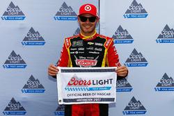 Polesitter Kyle Larson, Chip Ganassi Racing Chevrolet