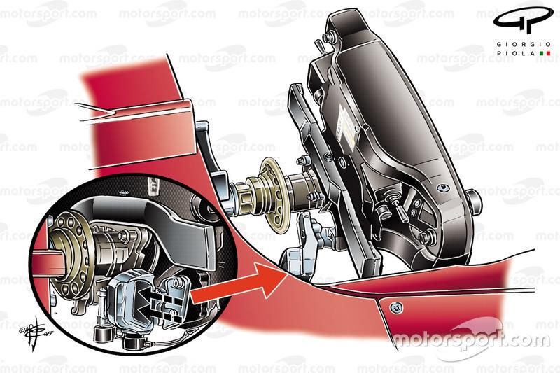 Ferrari SF70H, dettaglio del volante