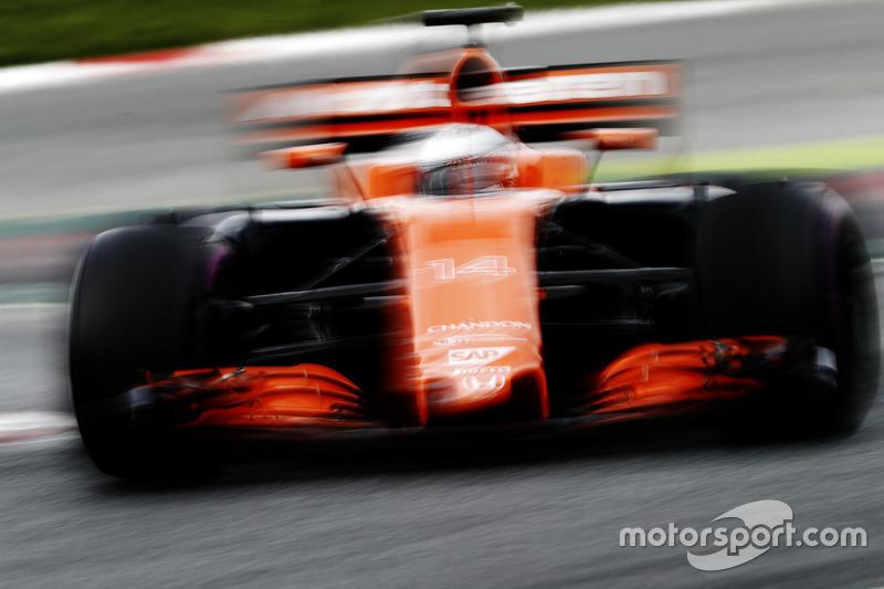 Mercredi : Fernando Alonso, McLaren MCL32