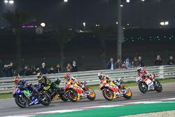 Maverick Viñales, Yamaha Factory Racing, Johann Zarco, Monster Yamaha Tech 3, Marc Marquez, Repsol H