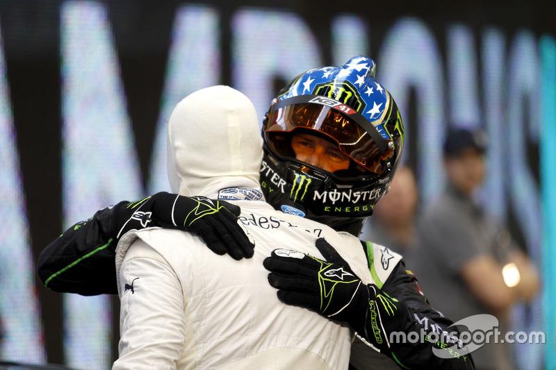 David Coulthard y Kurt Busch