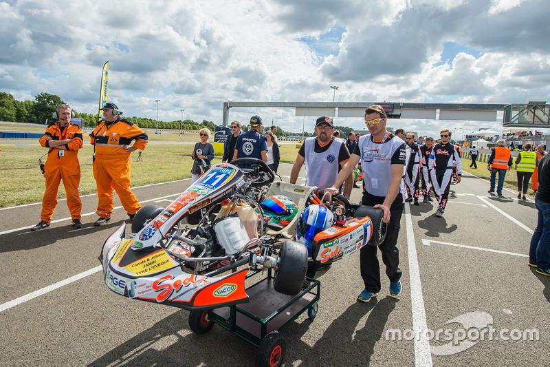 #11 Sarthe RTKF GP2: Jacques Gautier, Jean Letard, Pierre Alexandre Pennequin, Jean Baptiste Pennequin