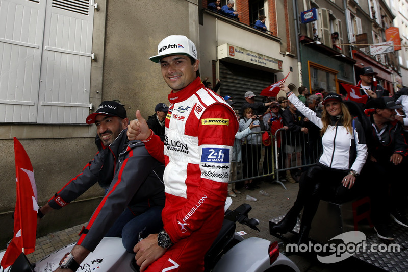 #12 Rebellion Racing Rebellion R-One AER: Nelson Piquet Jr