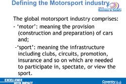 MBA Motorsport all'Università di Pisa