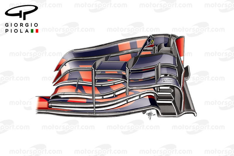 Red Bull RB12 front wing, German GP