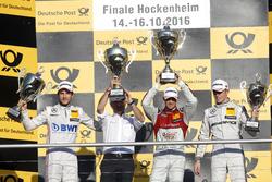 Podium: 1. Edoardo Mortara, Audi Sport Team Abt Sportsline, Audi RS 5 DTM; 2. Christian Vietoris, Me
