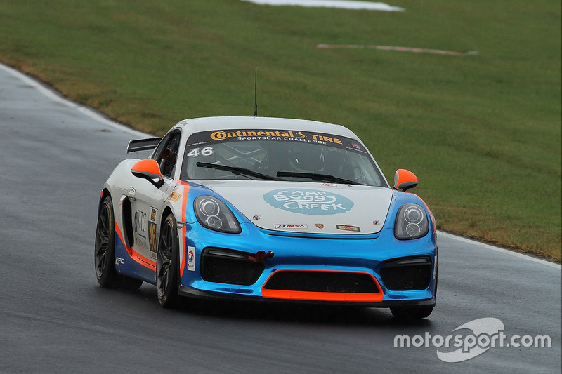 #46 Team TGM Porsche Cayman GT4: Ted Giovanis, David Murry