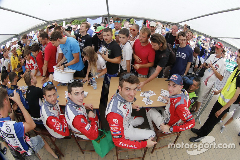 Craig Breen, Scott Martin, Citroën DS3 WRC, Abu Dhabi Total World Rally Team ve Stéphane Lefebvre, G