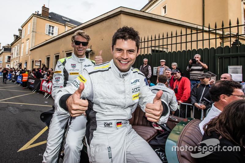 #4 ByKolles Racing CLM P1/01: Pierre Kaffer, Oliver Webb