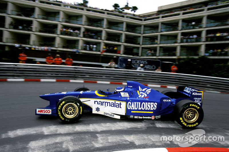 """<img src=""""https://cdn-5.motorsport.com/static/img/cfp/0/0/0/0/75/s3/france-2.jpg"""" alt="""""""" width=""""20"""" height=""""12"""" />Ligier (1995-96): 1 победа, 3 подиума"""