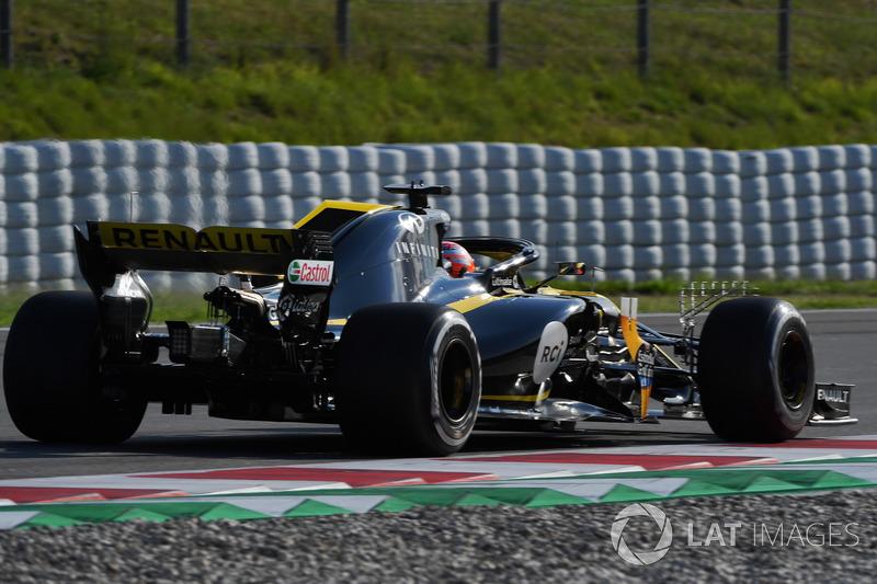 Jack Aitken, Renault Sport F1 Team R.S. 18