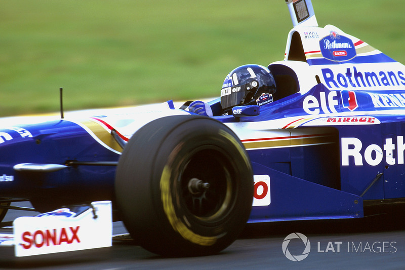 Ganador del GP de Brasil 1996: Damon Hill, Williams FW18