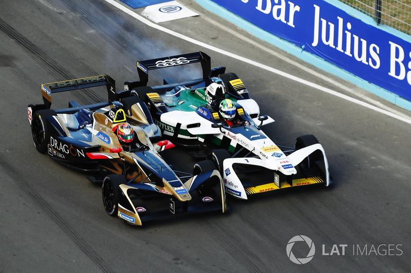 Jean-Eric Vergne, Techeetah, lotta con Lucas di Grassi, Audi Sport ABT Schaeffler