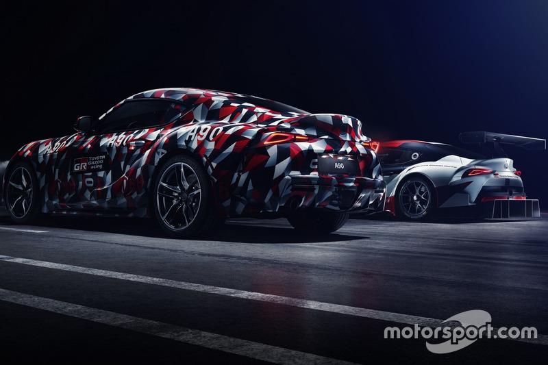Тізер Toyota Supra