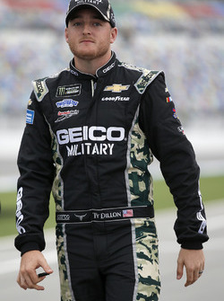 Ty Dillon, Germain Racing, Chevrolet Camaro GEICO Military