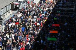 WEC pit walk at Spa Francorchamps