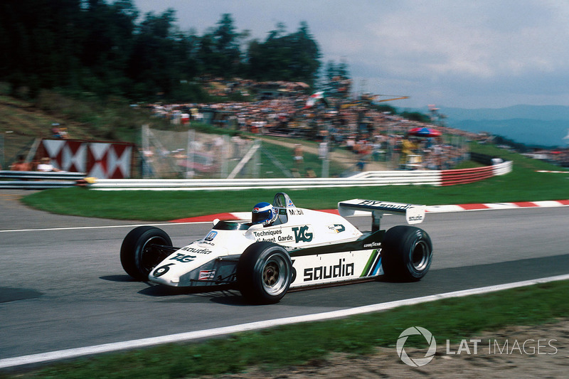 1982 : Williams-Cosworth FW08