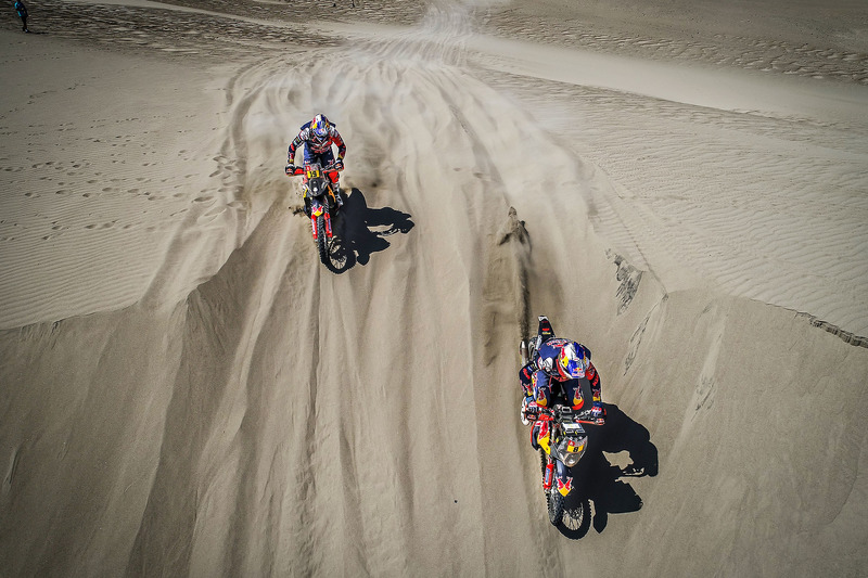 #8 Red Bull KTM Factory Racing KTM: Тобі Прайс, #19 Red Bull KTM Factory Racing KTM: Антуан Мео