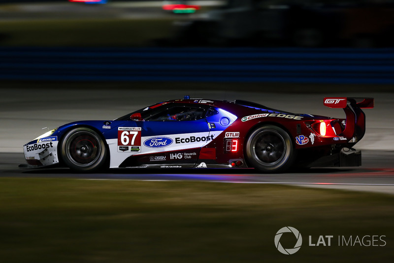 25.- #67 Chip Ganassi Racing Ford GT, GTLM: Ryan Briscoe, Richard Westbrook, Scott Dixon