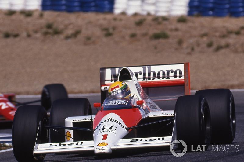 1989 : McLaren MP4/5, à moteur Honda