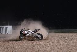 Chute de Raffaele De Rosa, Althea Racing