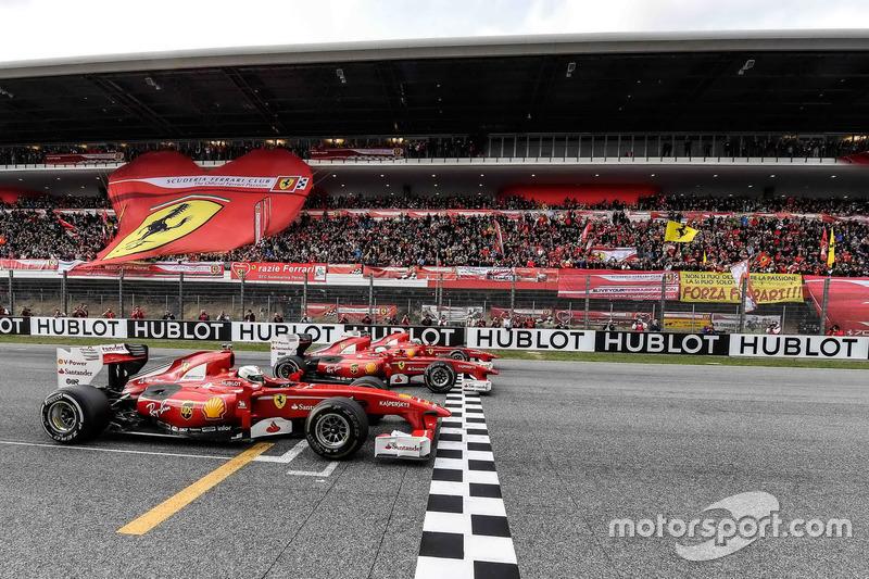 Шоу Ф1 від Ferrari
