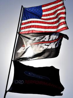 Brad Keselowski, Team Penske Ford flags