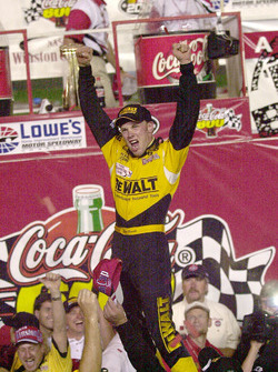 Race winner Matt Kensketh