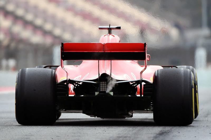 Ferrari SF71H, rear