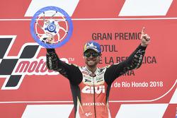 Racewinnaar Cal Crutchlow, Team LCR Honda