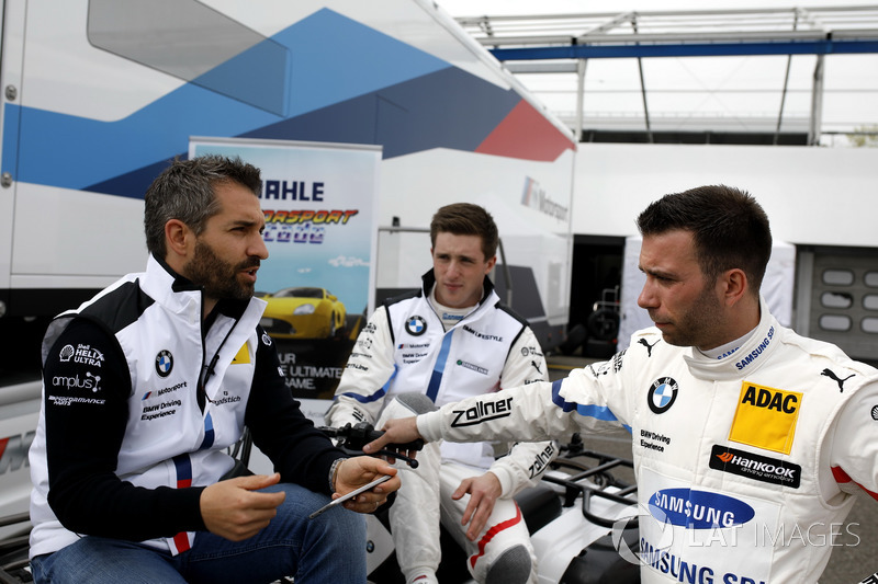 Timo Glock, BMW Team RMG, BMW M4 DTM, Joel Eriksson, BMW Team RBM, Philipp Eng, BMW Team RBM
