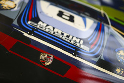 A Martini Porsche illustration