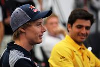 Brendon Hartley, Scuderia Toro Rosso en Carlos Sainz Jr., Renault Sport F1 Team