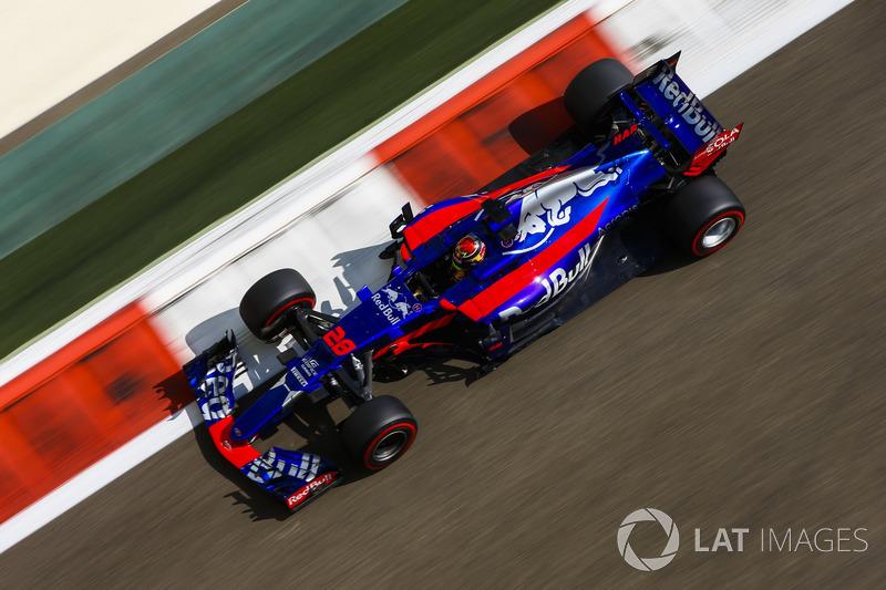 19. Brendon Hartley, Scuderia Toro Rosso STR12