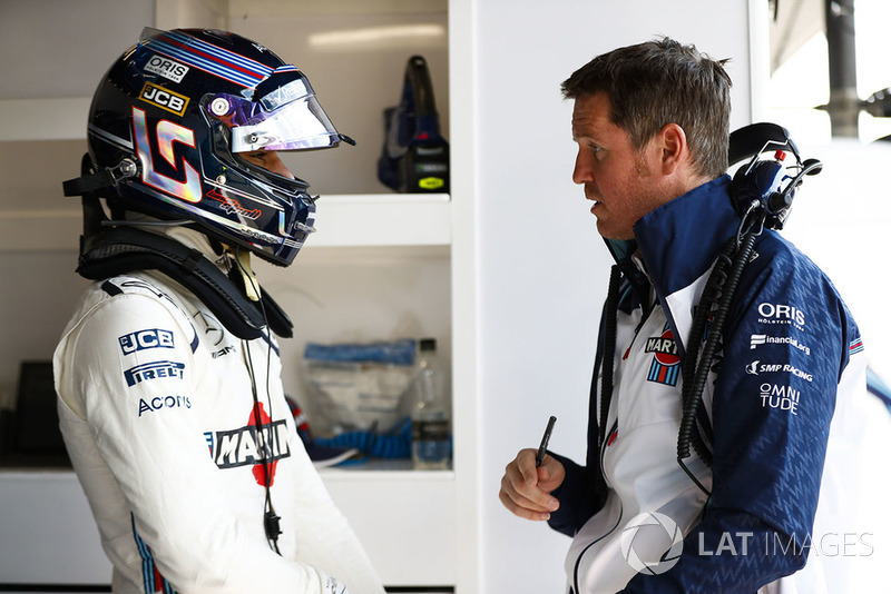 Lance Stroll, Williams Racing, Rob Smedley, Head of Vehicle Performance, Williams Martini Racing