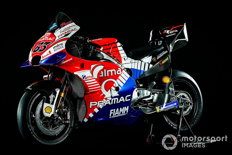 Мотоцикл Pramac Racing