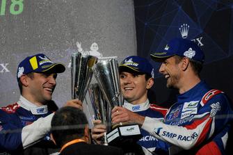 #11 SMP Racing BR Engineering BR1: Михайло Альошин, Віталій Петров, Дженсон Баттон