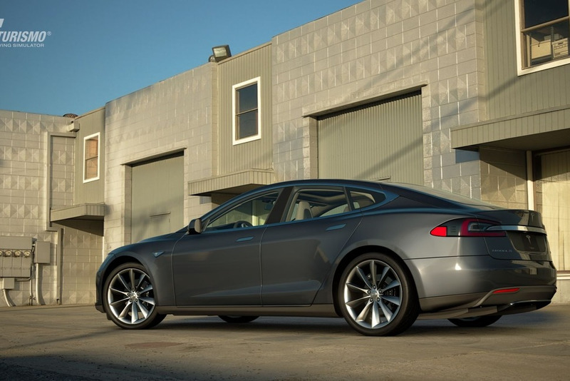 Tesla Motors Model S Signature Performance '12