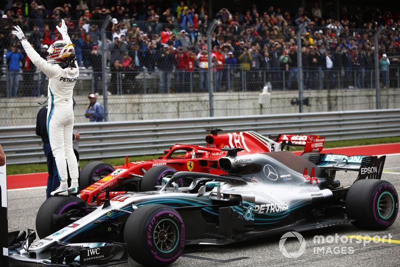 Обладатель поула Льюис Хэмилтон, Mercedes AMG F1 W09