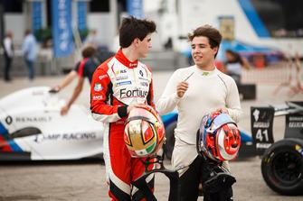 Axel Matus, AVF by Adrian Valles, Raoul Guzman, Fortec motorsports