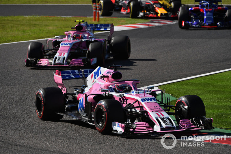 Winnaar 3: Racing Point Force India