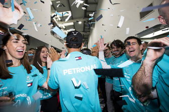 Lewis Hamilton, Mercedes AMG F1 World Championship celebration