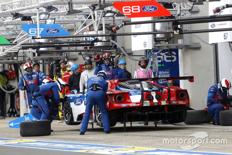 40th: #67 Ford Chip Ganassi Racing Ford GT: Marino Franchitti, Andy Priaulx, Harry Tincknell