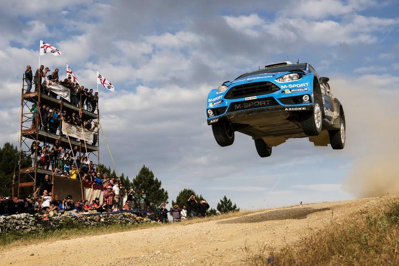 #1: Weitsprung von Mads Ostberg, Ford Fiesta WRC