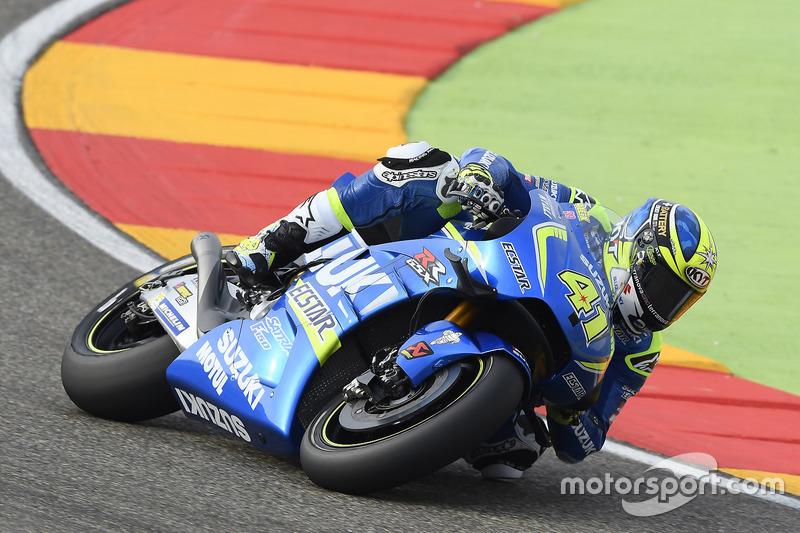 8. Aleix Espargaro, Team Suzuki Ecstar MotoGP