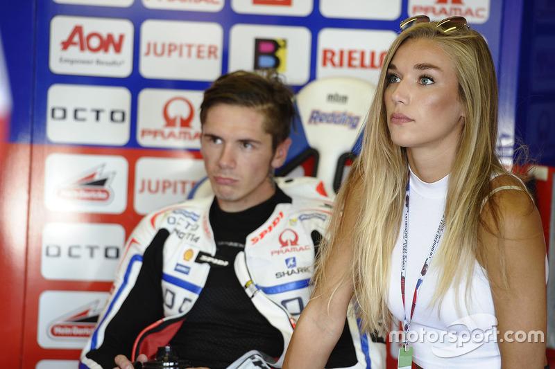 Scott Redding, Pramac Racing con la sua ragazza