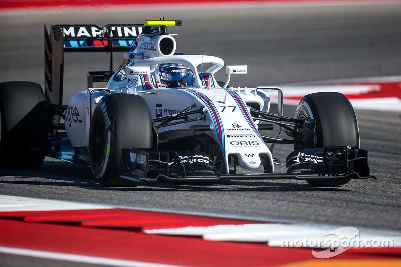 Williams FW38, Валттери Боттас