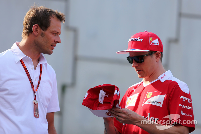 Alex Wurz und Kimi Räikkönen, Scuderia Ferrari