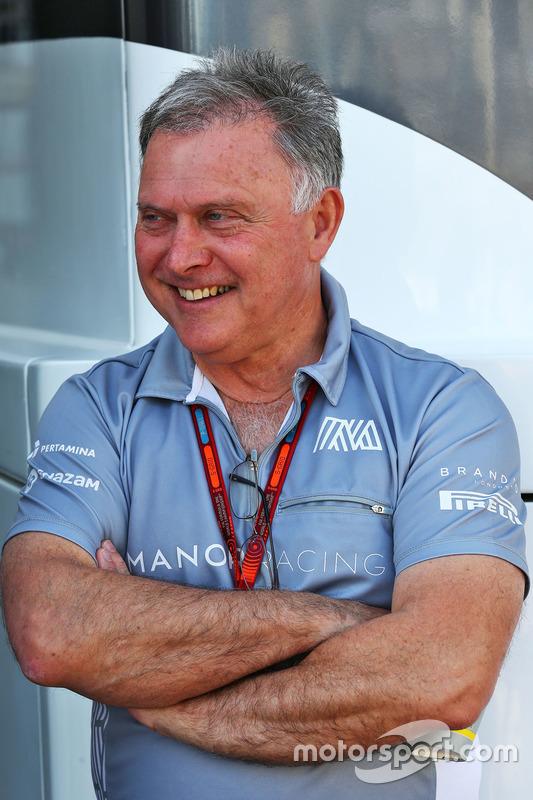 Dave Ryan, Director de Manor Racing carreras