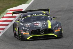 #85 HTP Motorsport Mercedes AMG GT3: Clemens Schmid, Jazeman Jafaar